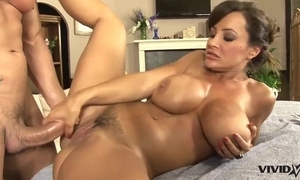 Not fair MILF with chunky knockers gets massaged and deeply drilled